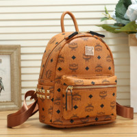MCM Casual Sport Laptop Bag Shoulder School Bag Backpack