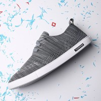 Summer Permeable Shoes Simple Design Stylish Casual Men's Shoes [6542338307]