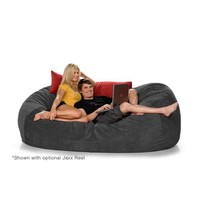 7.5ft Jaxx Lounger Microsuede Bean Bag Chair