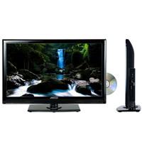 """Axess 24"""" LED TV with Built in DVD Player"""