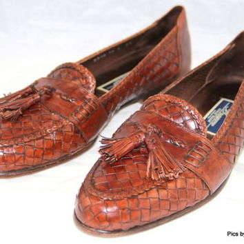 COLE HAAN BRAGANO Loafers Slip on Brown