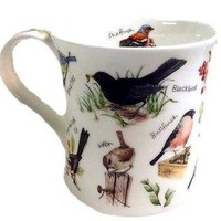 Dunoon Mug Birdlife New Boxed Gift Bird Jane Fern