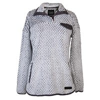 Simply Soft Sherpa Grey with Dark Grey Trim - Pullover - F20 - Simply Southern