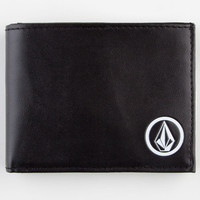 Volcom Corps Wallet Black/White One Size For Men 22833712501
