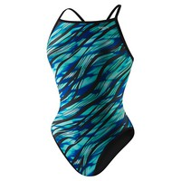 Twisting Weave Reversible Drill Back | Speedo USA