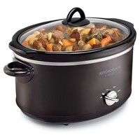 Kitchen Smith by BELLA 6QT Manual Slow Cooker