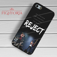 5sos reject-nay for iPhone 4/4S/5/5S/5C/6/ 6+,samsung S3/S4/S5,S6 Regular,S6 edge,samsung note 3/4