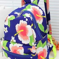 Ethnic Style Painting Flower Backpack from adaliawu
