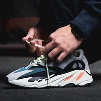 Bunchsun ADIDAS YEEZY 700 Trendy sports casual men's and women's retro sports shoes 1#