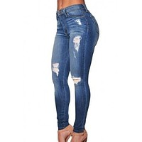 # Women's Denim Skinny Jeans