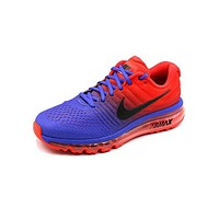 NIKE AirMax Popular Men Casual Sports Air Cushion Running Shoes Sneakers Blue Red Gradient