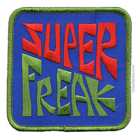 Super Freak Patch on Sale for $2.99 at HippieShop.com