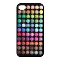 Treasure Design Funny Cute Makeup Set Iphone 4/4s Silicone Case For Gilrs:Amazon:Cell Phones & Accessories