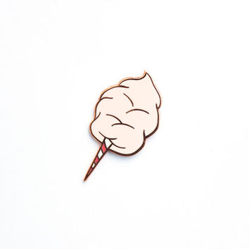 Cotton Candy Hard Enamel Lapel Pin Shipping AFTER JANUARY 4TH