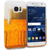 Beer TPU Rubber Skin Case Cover for Samsung Galaxy S7
