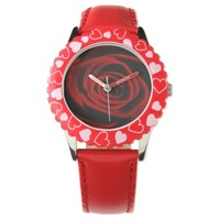 Red Rose depth of love Wrist Watches