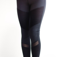 Moto Athletic Leggings