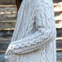 LA Hearts Chunky Cable Knit Button Front Cardigan at PacSun.com