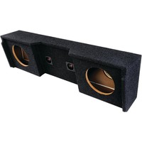 "Atrend Bbox Series Subwoofer Boxes For Gm Vehicles (12"" Dual Downfire)"
