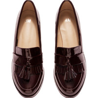 Patent Shoes - from H&M