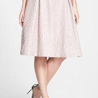 Search for Sanity Diamond Textured Circle Skirt