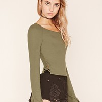 Bell-Sleeved Top