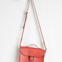 Vintage Inspired Have Style, Will Travel Bag in Poppy by Brit-Stitch from ModCloth
