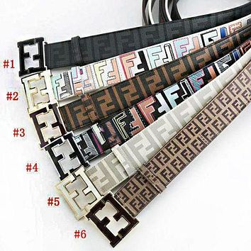 FENDI Women's Fashion High Quality Belt F