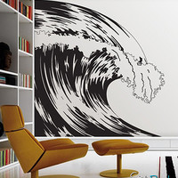 Vinyl Wall Decal Sticker Ocean Wave #MCrespo106