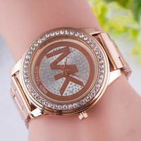 Michael Kor Diamonds Quartz Classic Watches Womens/Mens Mk Watch
