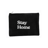 Stay Home Zip Pouch