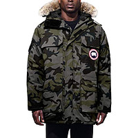Expedition Extreme Weather 625 Fill Power Down Parka with Genuine Coyote Fur Trim Classic Camo Coastal Grey