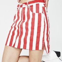 Out Of Line Mini Skirt