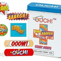 Ouch! Comic Strips Bandages | FunSlurp.com