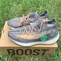 Adidas Yeezy Boost 380 V3 three-generation coconut mesh hollow sneakers Shoes Coffee