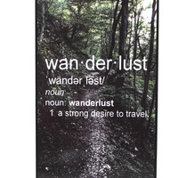 Wanderlust Definition Phone Case