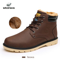 Flat Heel Men's Shoes2016Hot Autumn Winter Ankle Boots Male Snow Boots Casual British Style Men Canvas Shoes Free Delivery  #20