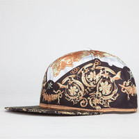 Young & Reckless Luxury Print Mens Snapback Hat Black Combo One Size For Men 22796014901