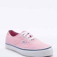 Vans Authentic Trainers in Pink - Urban Outfitters