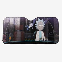 Rick And Morty Space Accordion Sunshade