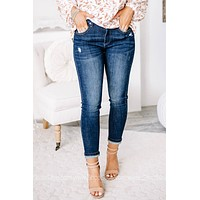 Remaining Vivid Mid Rise Skinny Jeans