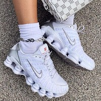 Nike Sportswear Shox TL Women Men Fashion Casual Sneakers Sport Shoes