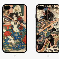 New Fashion 3D  anaglyph stereoscopic Painting Plastic Case Cover for Apple iPhone7 7plus 6 Plus 6 -05005