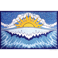 Sun Wave Tapestry on Sale for $27.99 at HippieShop.com