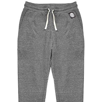 NEW COLOR! Light Grey Marled Jogger Sweatpants - Made in USA