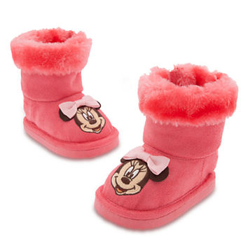 Minnie Mouse Boots for Baby