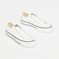 Platform Low Top Sneaker
