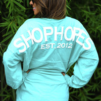 Shop Hope's Spirit Jersey: Mint | Hope's