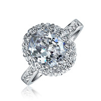 Bling Jewelry Sparkle Say Yes Ring