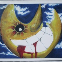 Print of Soul Eater Moon Painting